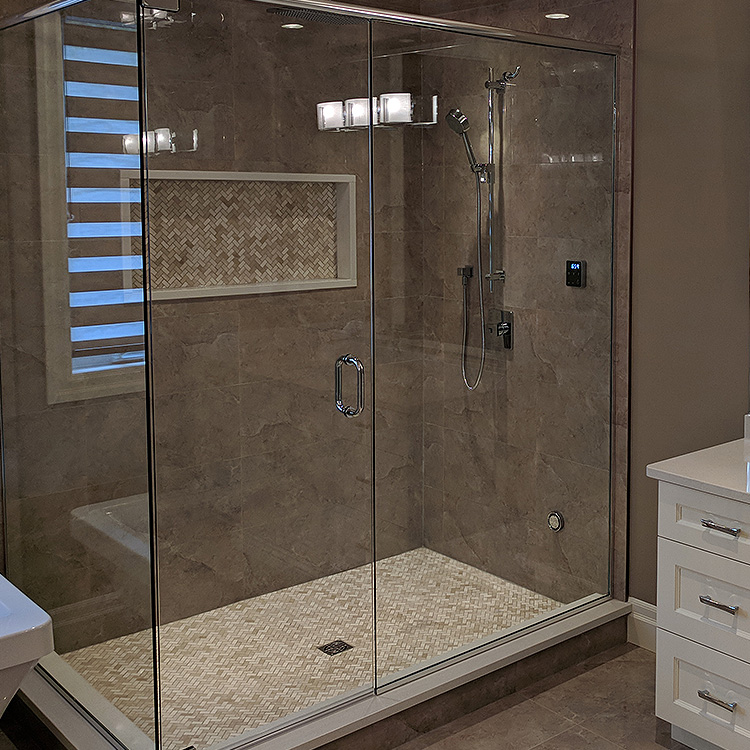Frameless Shower Enclosures - Bayview Glass and Mirror