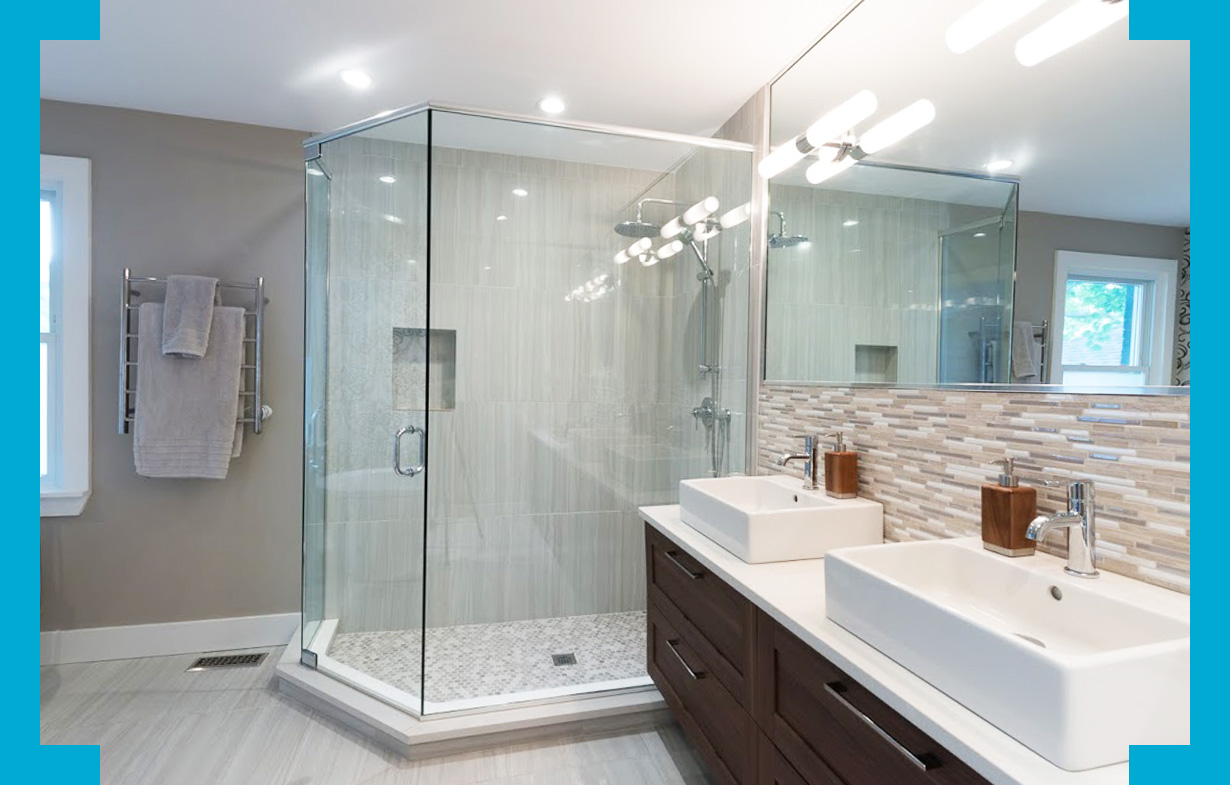 Frameless Shower Enclosures Bayview Glass And Mirror
